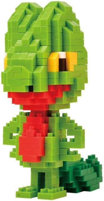 HHtoy 385 bloques de construcción de las PC Pequeño partículas de ladrillo Treecko Anime Figuras Pokemon muñeca de juguete creativo diamante miniatura bloques huecos DIY del rompecabezas juguetes educ