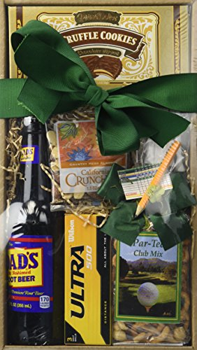 (California Delicious Dad's Tee-Riffic Golf and Goodies Gift Box)
