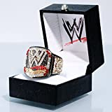 WWE Championship Finger Ring Black/Gold/Red
