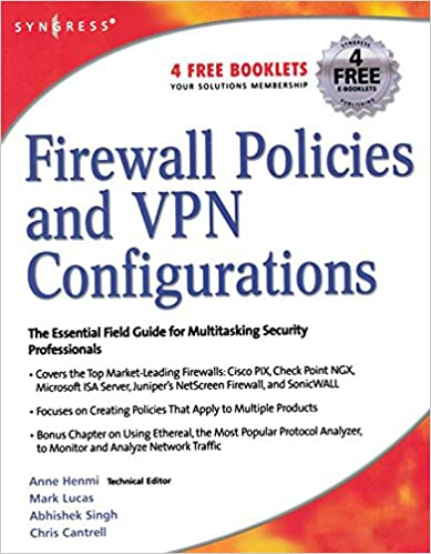 Amazon firewall policies and vpn configurations ebook syngress amazon firewall policies and vpn configurations ebook syngress dale liu stephanie miller mark lucas abhishek singh jennifer davis kindle store fandeluxe Images