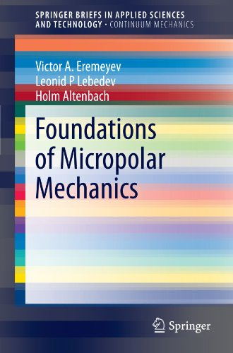 Foundations of Micropolar Mechanics (SpringerBriefs in Applied Sciences and Technology)