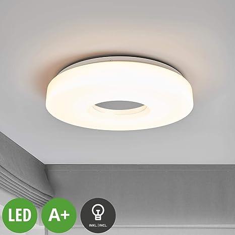 LED Lámpara de techo Levina (Moderno) en Blanco hecho de Plástico e.o.