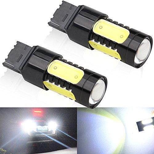 440 7440NA 7443 7443NA 7441 992 COB 7.5W Automobile Light Bulbs Turn Side Bulbs Stop Lamp Car Reverse Lamp Turn Signals Light ()
