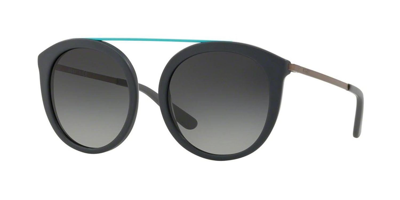DKNY 0DY4154 Gafas de sol, Matte Grey, 52 para Mujer: Amazon ...