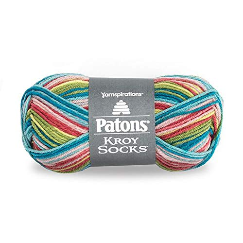 Patons Kroy Socks Yarn Meadow Stripes