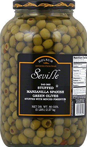 DOT FOODS OLIVE STFD MANZLA-1 GA -Pack of 4 by Dot Foods