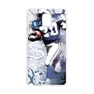 Detroit Lions Samsung Galaxy Note 4 Cell Phone Case White DIY gift zhm004_8727084