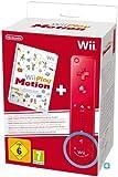 Wii Play Motion : 12 jeux + Télécommande Wii Plus rouge