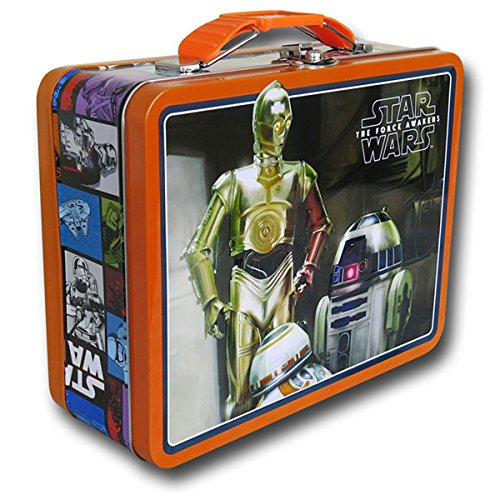Star Wars THE FORCE AWAKENS Tin Lunch Box