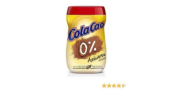 Cola Cao Cacao Natural 0% Azúcar Añadido - 700 gr: Amazon.es: Alimentación y bebidas