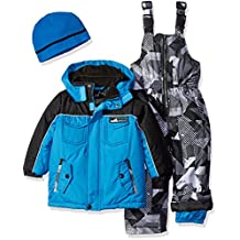 iXTREME boys Colorblock and Print Better Snowsuit