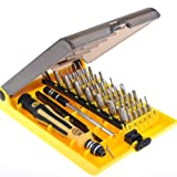 45 in 1 Professional Hardware Tool Set Portable Opening Tool Precision Torx Screwdriver sets Kit Set for Precise Repair Maintenance JK6089-A