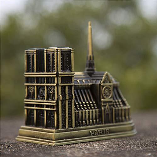 - Anzorhal Notre Dame de Paris Model, Notre Dame Ornament,Paris Notre Dame Building Figurine,Vintage Home Office Desktop Decor Gift Memento,France French Souvenir Notre-Dame de Paris