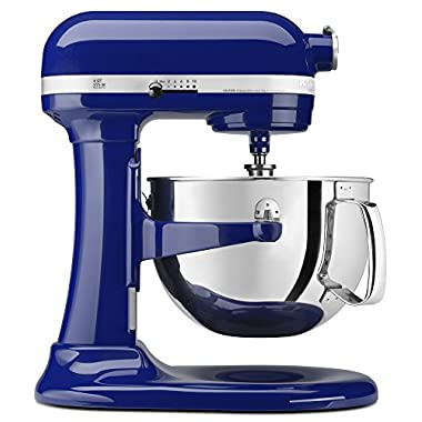 KitchenAid Professional 600 Series KP26M1XER Bowl-Lift Stand Mixer, 6 Quart, Cobalt Blue