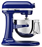 kitchen ade mixers - KitchenAid KP26M1XBU 6 Qt. Professional 600 Series Bowl-Lift Stand Mixer - Cobalt Blue