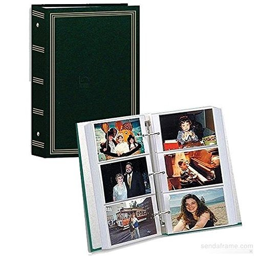 Holson Easy Pockets Photo Album for 200 4X6 and 3X5 with ...