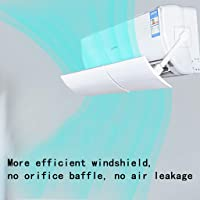 Air Deflector,Bususer Air Conditioner Deflector Confinement Outlet Air Wing Air Cooled Anti Blast Baffle Wind Direction Telescopic Windshield