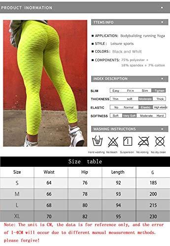 Leggings Green Vita Slim A Donna Highlights Pantaloni Nove Da Skinny Traspirante Fianchi Sportivi Yoga Alta Palestra ZwHxPa