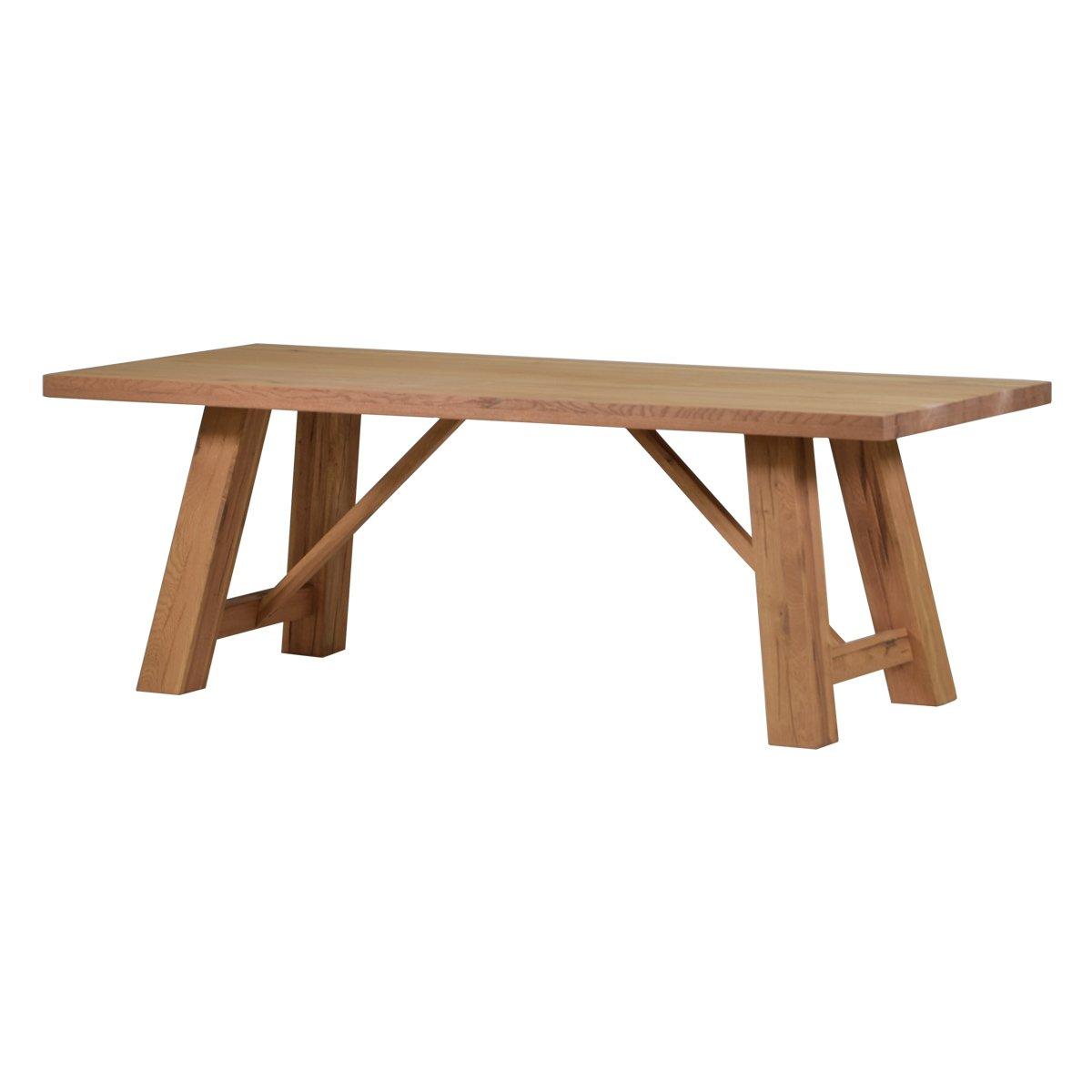 Esstisch Esszimmertisch Tisch Brandon 180x90 cm, Massivholz Holz ...