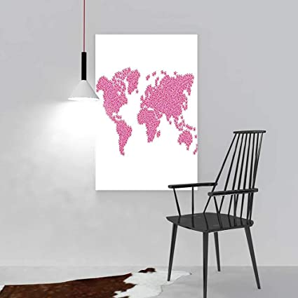 Amazon Com Nalahome Hanging Wall Decoration Painting The Earth As