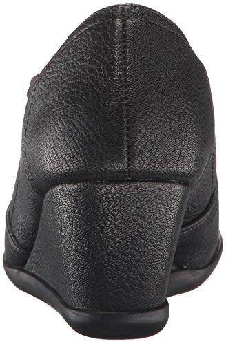 Aerosoles Women's Retro Fit Slip-On Loafer Black Yhdo7CYLMY