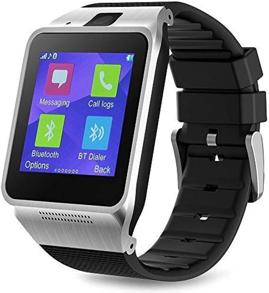 Padgene Reloj conectado con Bluetooth Smart Watch-Reloj ...