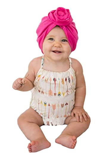 Image Unavailable. Image not available for. Color  Baby Top Knot Turban ... 4ad71b870b2