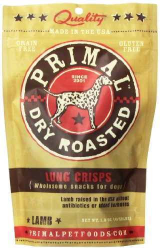 Primal Pet Foods Lamb Lung Crisps Dog Treat