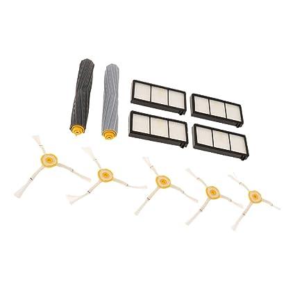 non-brand Baoblaze Kit de Repuestos para Aspiradora para Robot de Barrido Series 800 y