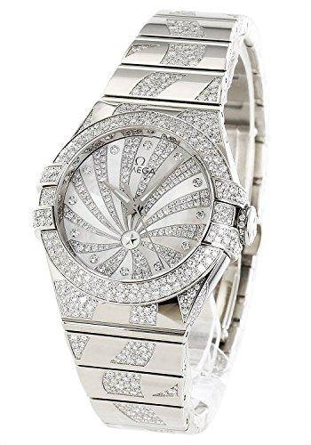 Omega Constellation Luxury Edition Diamond Pure Gold Ladies 123.55.31.20.55.009