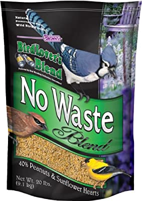 F.M. Brown's Bird Lovers Blend, 20-Pound, No Waste Blend