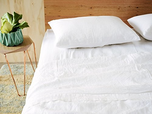 Merryfeel Luxurious 100% Pure French Linen Sheet Set - King