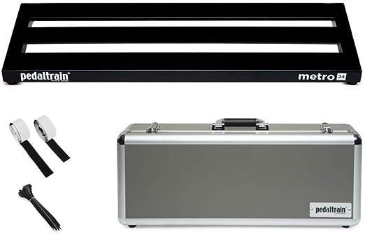 Pedaltrain Metro 24 HC (Pedalera con Hard Case): Amazon.es: Instrumentos musicales