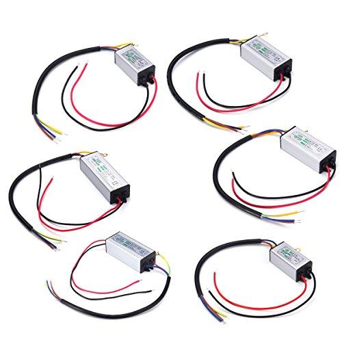 Lights & Lighting - 10w 20w 30w 50w 100w Waterproof Supply Led Driver Ac85-265v - Light-Emitting Diode Guided Device - 1PCs