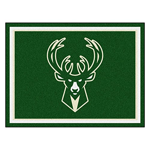 FANMATS 17458 NBA Milwaukee Bucks Rug by Fanmats