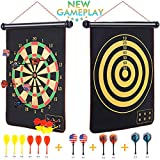 Magnetic Dart Board for Kids and Adults 12pcs