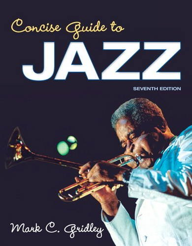 Concise Guide to Jazz (7th Edition) by Pearson