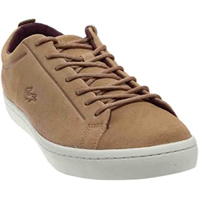 1be671853 Lacoste Men s Straightset Suede Sneakers
