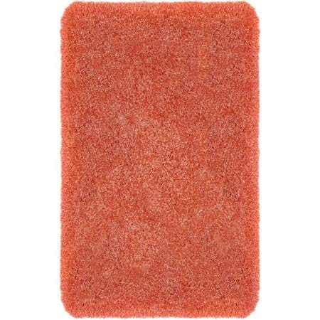 "Better Homes & Gardens Thick and Plush Nylon Bath Rug Collection, 24""x60"", Gulf Coral from Maples Industries Inc."