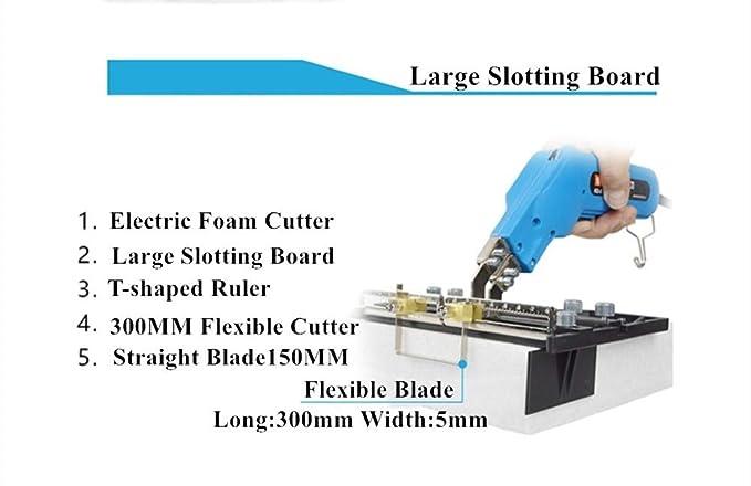 Amazon.com: Cuchillo eléctrico de 110 V, cortador de calor ...
