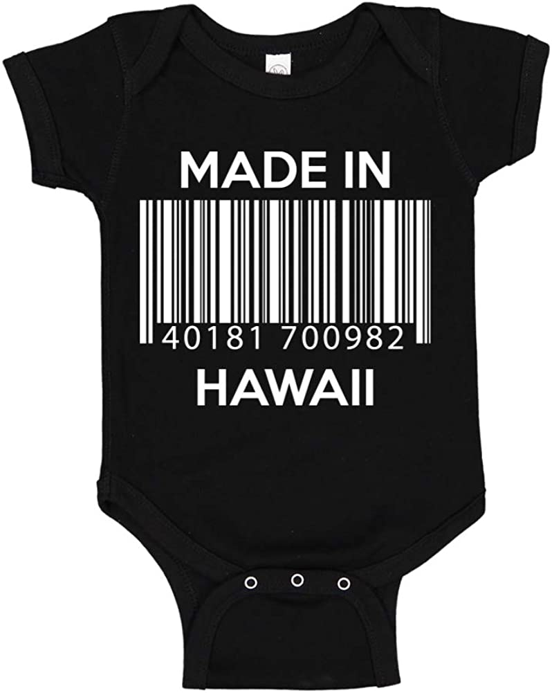 Baby Romper Made in Delaware Barcode