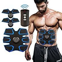 [New Version 2017] Havenfly Abdominal Muscle Toner Body Toning Fitness Training Gear Abs Fit Training ABS Fit Weight Muscle Training Abs Belt Toning Gym Workout Machine, Smart Home Fitness (M1)