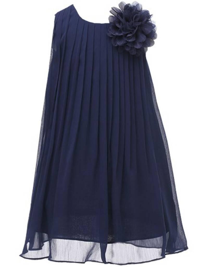 Bow Dream Chiffon Bridesmaid Flowers Girls Dresses 6