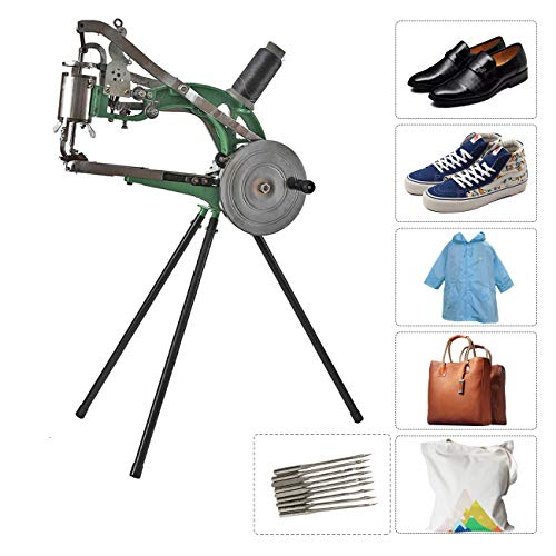 BEAMNOVA Leather Cobbler Sewing Machine Industrial Hand Heavy Duty Shoe Repair Equipment