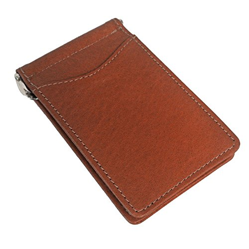 Saddle Holder Leather Money Card Credit Fold w Bi Clip in aq0Wz