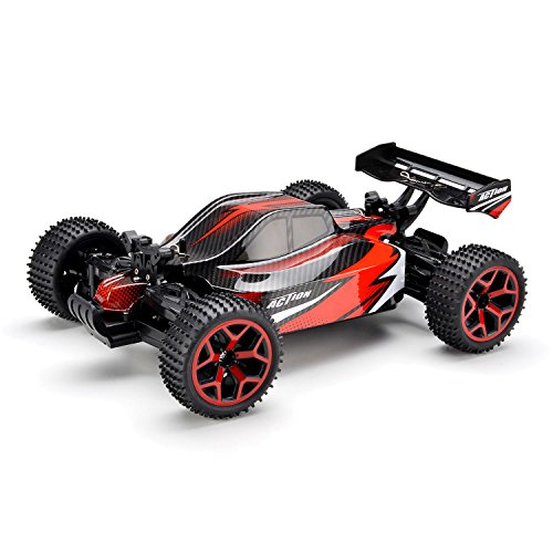VLOXO High Speed RC Car 1:18 2.4G 4WD Speed Buggy Model Off-Road Car Vehicle Kids Toy
