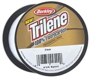 Berkley Trilene - Hilo de pescar (fluorocarbono, 6,8 kg, 0,38 mm, 704 m), transparente