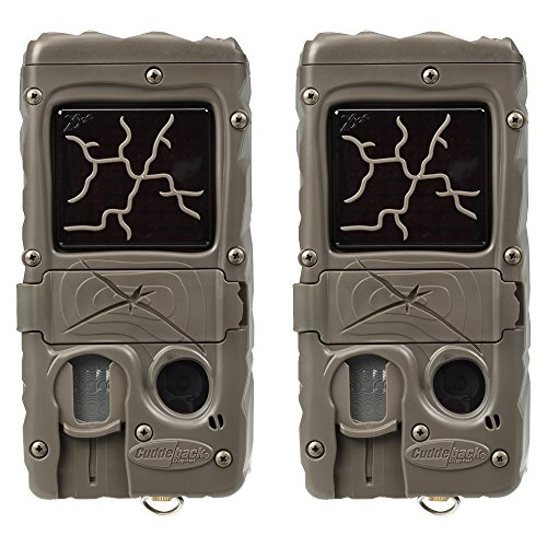 Cuddeback (2) Dual Flash with Cuddelink 20MP Invisible Infrared Game Trail Camera | 1361