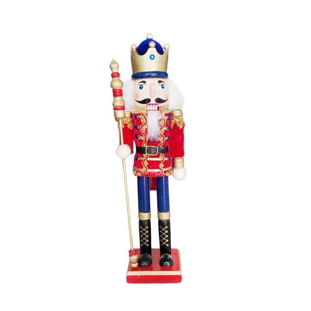LeKing-Cascanueces tí tere soldado, artesaní as en madera, adornos navideñ os artesanías en madera adornos navideños