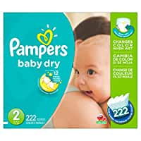 Pampers\x20Baby\x20Dry\x20Diapers\x20Size\x202,\x20222\x20Count